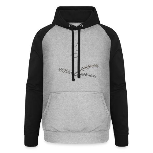 Klar til jul - Unisex baseball hoodie