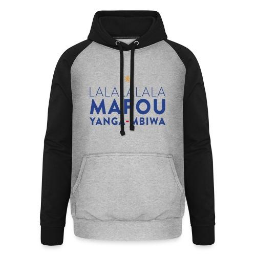 Mapou YANGA-MBIWA - Sweat-shirt baseball unisexe