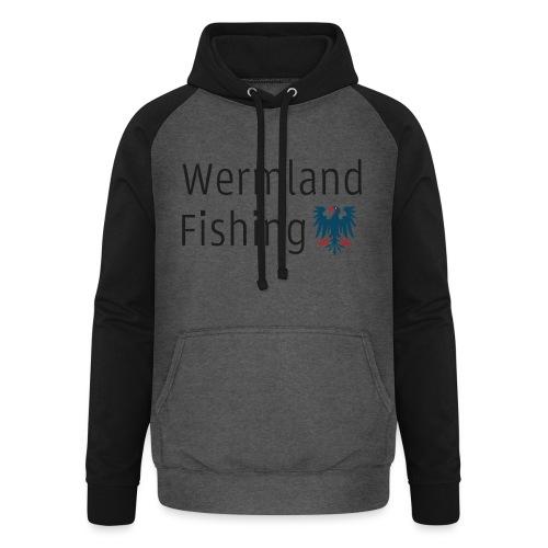 Wermland Fishing (Standard blue) - Basebolluvtröja unisex
