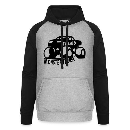 logo mtteam16 noir - Sweat-shirt baseball unisexe