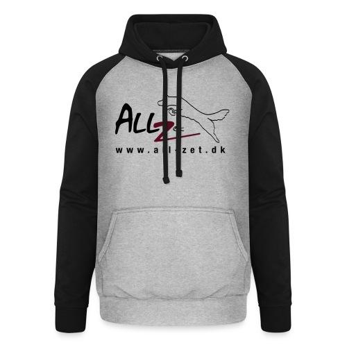 All Zet Logo - Unisex baseball hoodie