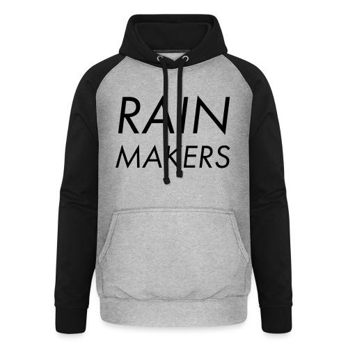 rainmakertext - Unisex baseball-huppari