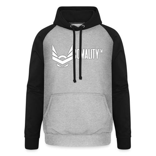 AWESOMECAP | Comality - Unisex baseball hoodie