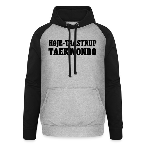 Høje-Taastrup Front Tryk - Unisex baseball hoodie