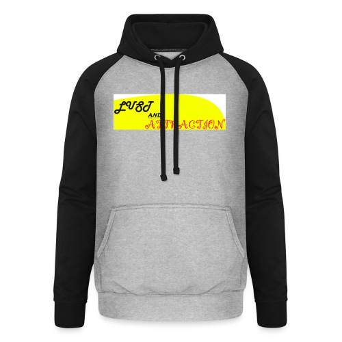 lust ans attraction - Unisex Baseball Hoodie
