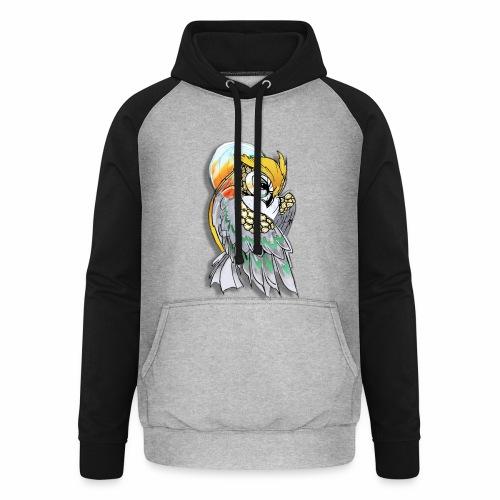 Cosmic owl - Sudadera con capucha de béisbol unisex