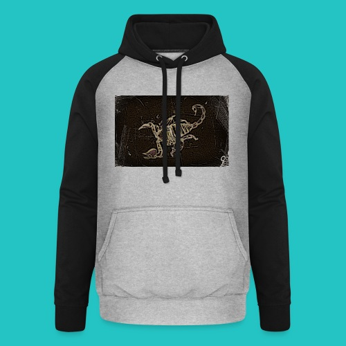 skorpion_grafika-jpg - Bluza bejsbolowa typu unisex