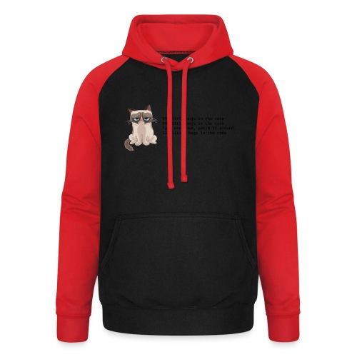 99 litle bugs of code - Unisex baseball hoodie