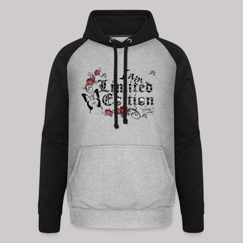simply wild limited Edition on white - Unisex Baseball Hoodie