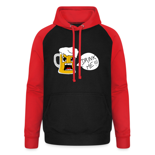Bière - Sweat-shirt baseball unisexe