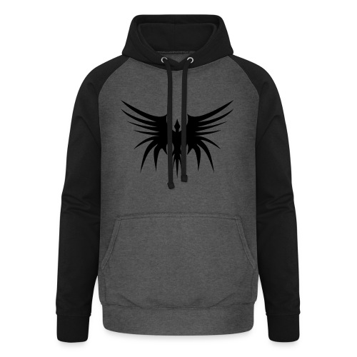 Phoenix Noir - Sweat-shirt baseball unisexe
