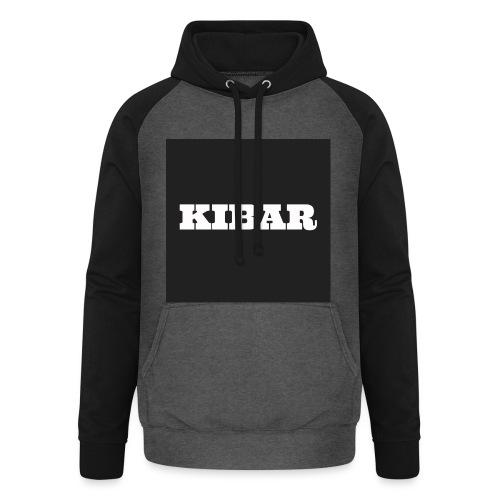 KIBAR - Unisex baseball hoodie