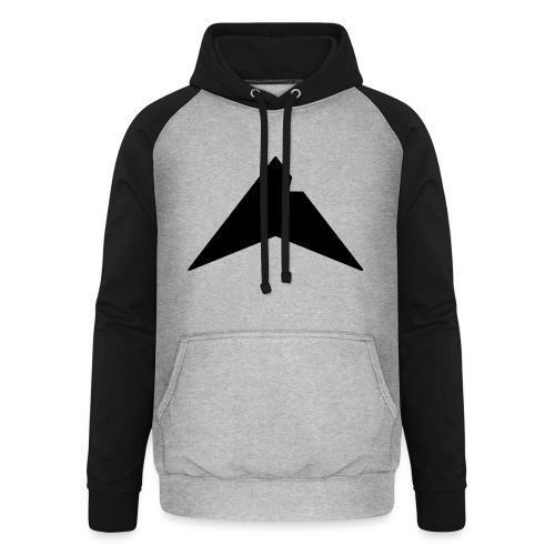 UP-CLAN Logo - Unisex baseball hoodie