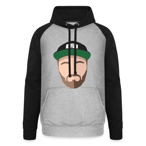 Luyeee FACEUP - Unisex baseball hoodie