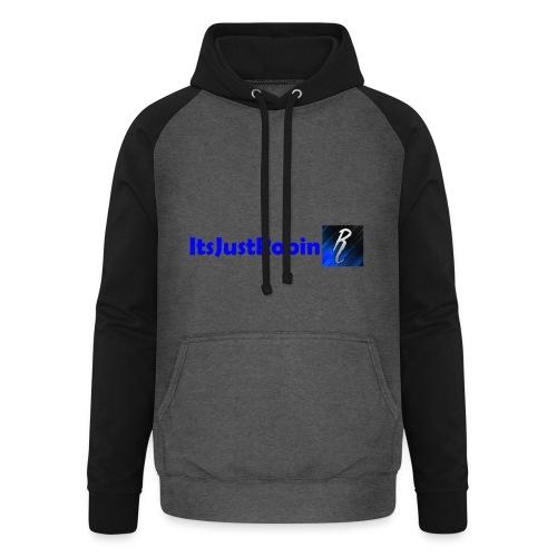 Eerste design. - Unisex Baseball Hoodie
