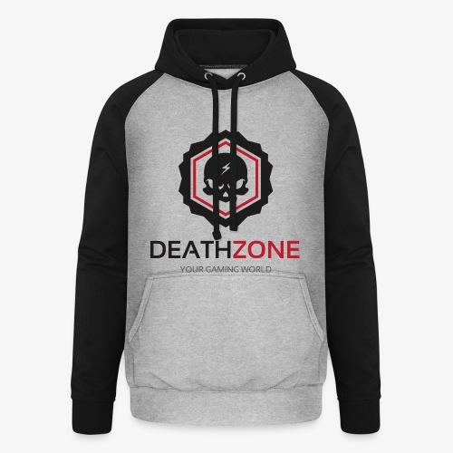 DeathZone Logo Avatar - Bluza bejsbolowa typu unisex