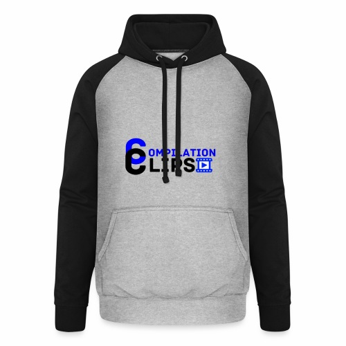 Official CompilationClips - Unisex Baseball Hoodie