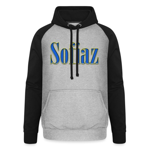 Sofiaz - Basebolluvtröja unisex