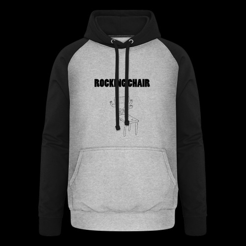 Rocking Chair - Unisex Baseball Hoodie