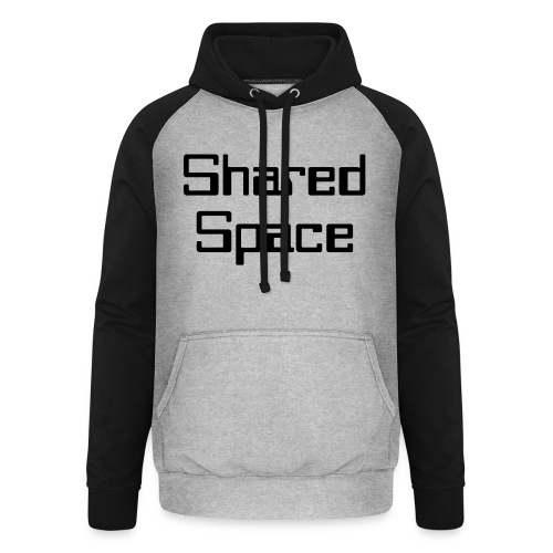 Shared Space - Unisex Baseball Hoodie