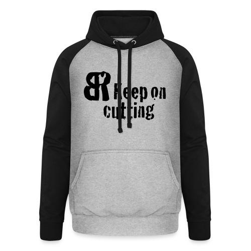 keep on cutting 1 - Unisex Baseball Hoodie