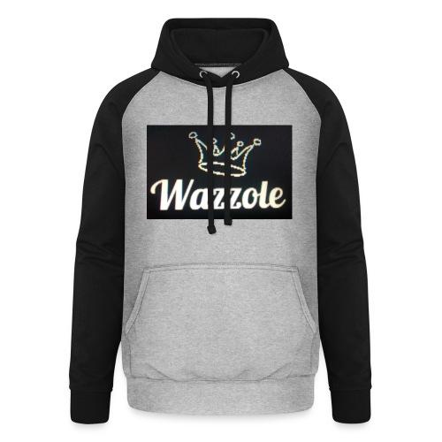 Wazzole crown range - Unisex Baseball Hoodie
