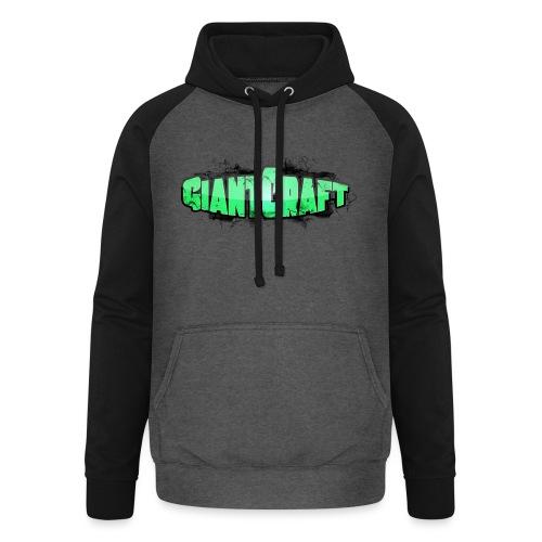 Vandflaske - GiantCraft - Unisex baseball hoodie