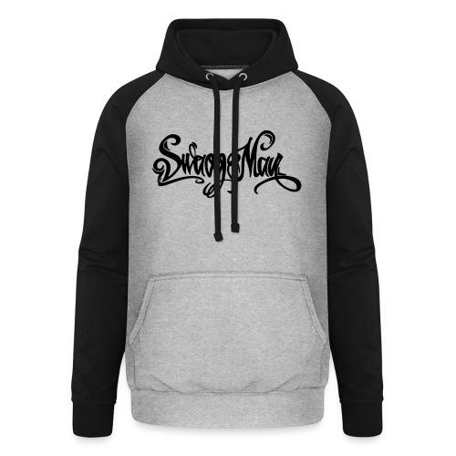 Swagg Man logo - Sweat-shirt baseball unisexe