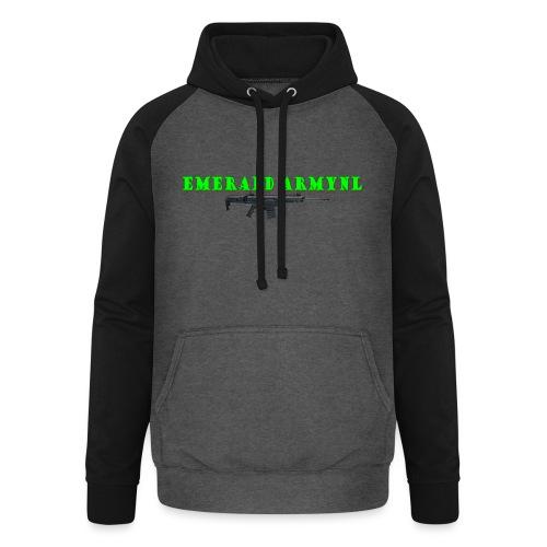 EMERALDARMYNL LETTERS! - Unisex baseball hoodie