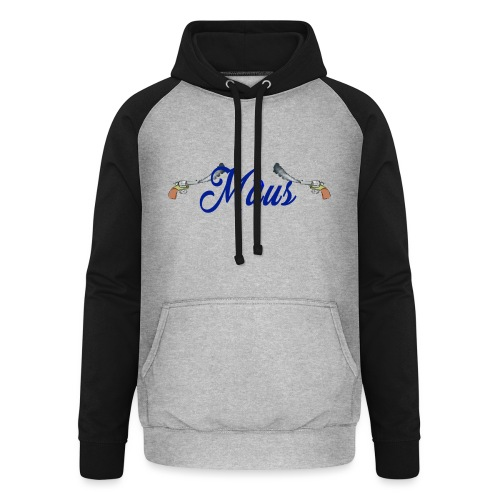 Waterpistol Sweater by MAUS - Unisex baseball hoodie