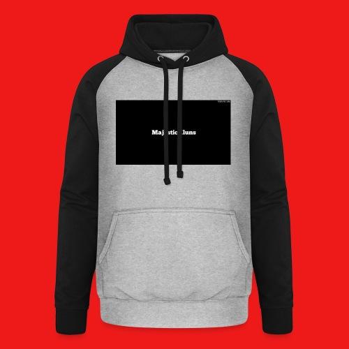 New - Unisex baseball hoodie