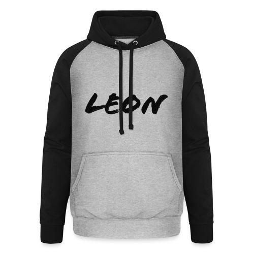 Leon - Sweat-shirt baseball unisexe