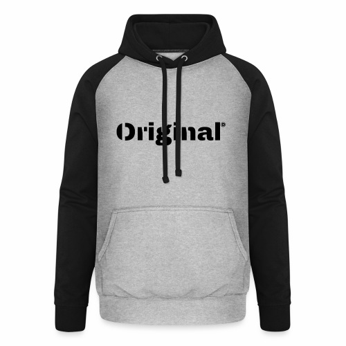 Original, by 4everDanu - Unisex Baseball Hoodie
