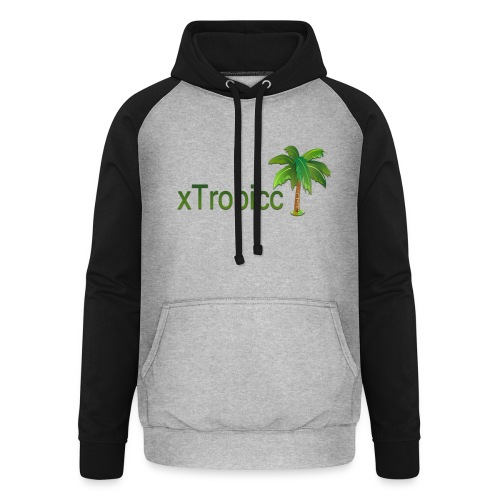 tropicc - Sweat-shirt baseball unisexe
