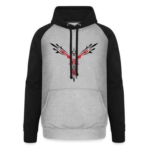 phoenix hoodie - Basebolluvtröja unisex