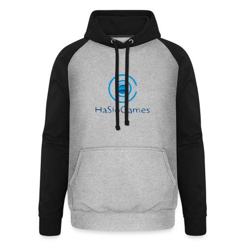 HasloGames Producten officieel logo - Unisex baseball hoodie