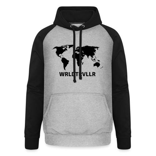 Worldtraveller - Unisex Baseball Hoodie