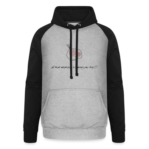 DJ DJing Scratch Turntables Hip Hop Battle Vinyl - Unisex Baseball Hoodie