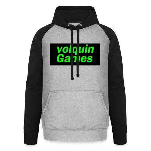 volquin - Unisex baseball hoodie