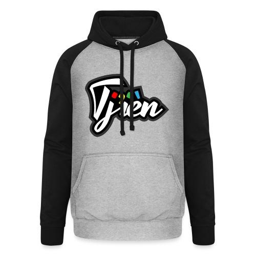 Tjien Logo Design - Unisex baseball hoodie
