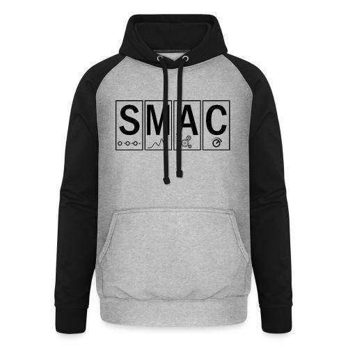 SMAC3_large - Unisex Baseball Hoodie