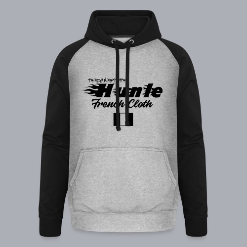 hunle Flame - Sweat-shirt baseball unisexe