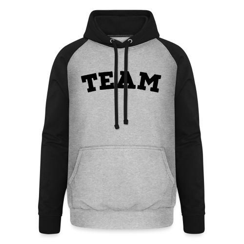 Team - Unisex Baseball Hoodie