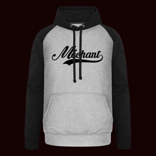 mechant_logo - Sweat-shirt baseball unisexe