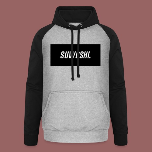 Suwoshi Sport - Unisex baseball hoodie