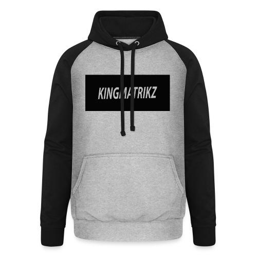 kingmatrikz - Unisex baseball hoodie