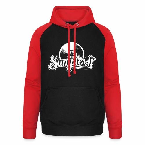 Samples.fr noir - Sweat-shirt baseball unisexe