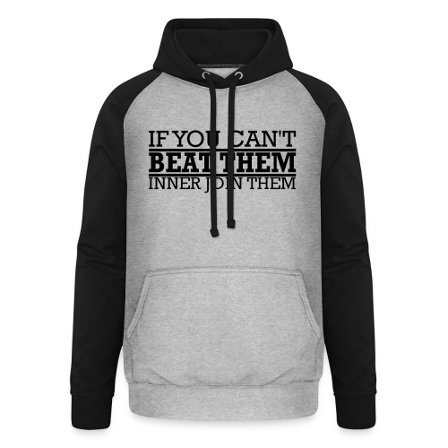 If You can't beat them, inner join them - Basebolluvtröja unisex