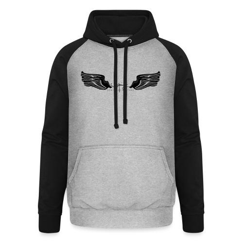 Seraph Wings Logo - Sweat-shirt baseball unisexe