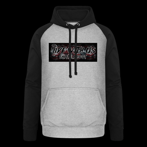 red camo - Unisex baseball hoodie
